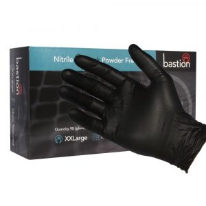 Black Gloves Nitrile & Powder Free. Choose Bohemian Medical for all your PPE needs.