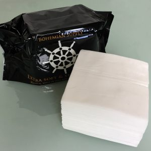 Bohemian non woven wipes. Choose Bohemian Medical for all your PPE needs.